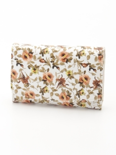 花柄折財布