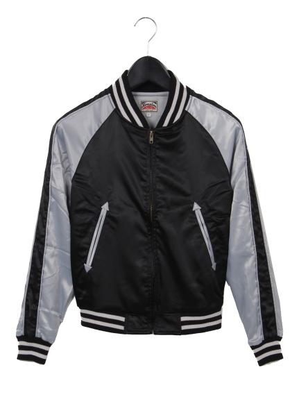 MAX HOUSTON (ヒューストン) スーベニアジャケット ブラック