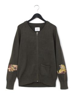刺繍C-2セーター