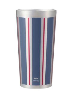 BRUNO+BYBRUNOステンレスカップ Tall ストライプ(ストライプブルー)
