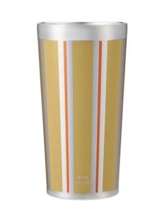 BRUNO+BYBRUNOステンレスカップ Tall ストライプ(ストライプゴールド)