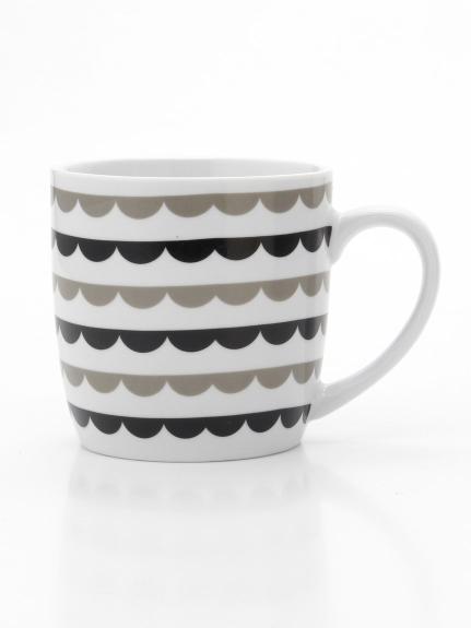 NOW DESIGNS (ナウデザイン) マグカップGeometry Scallop ホワイト