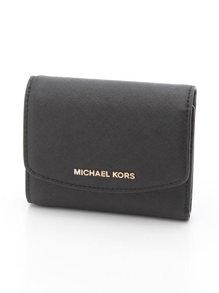 MICHAEL KORS (マイケルコース) 三つ折り財布 BLACK