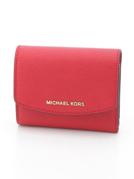 MICHAEL KORS (マイケルコース) 三つ折り財布 BRIGHTRED