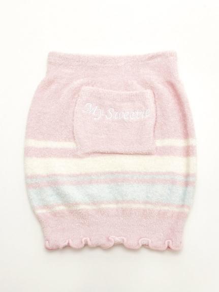 T・S・L (トウキョウサンレディー) 【温ったか】ロゴボーダーハラマキ ピンク