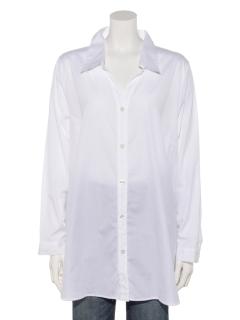 サイドリボン シャンブレーシャツ