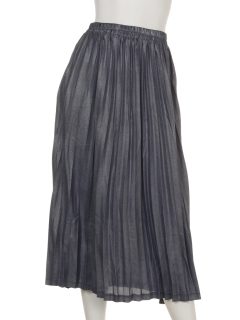 ラメプリーツスカート