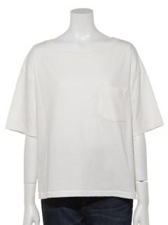 ポケ付きドロショルTシャツ