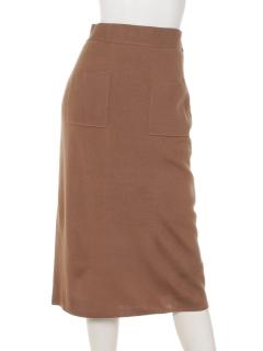 ウォッシャブルミラノリブタイトスカート