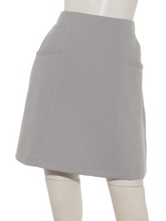 二重織り台形スカート