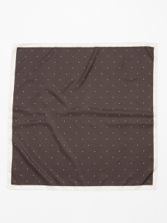 ピンドットスカーフ