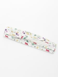 花柄サッシュベルト