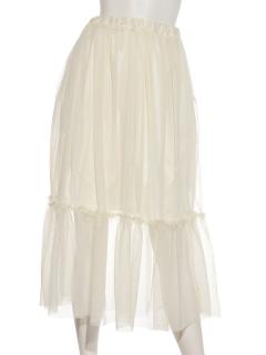 チュールカバースカート