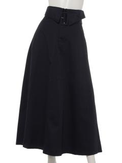 チノベルト付きロングスカート