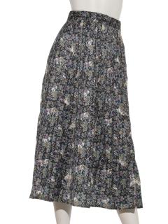 オリエンタルフラワーホーススカート