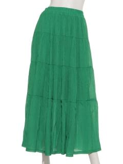 楊柳ティアードコラボスカート
