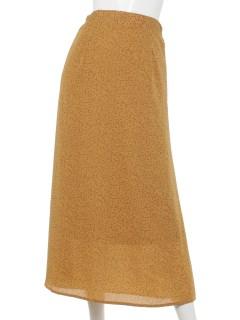 フラワーペタルナロースカート