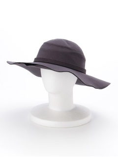 フェルト風女優帽