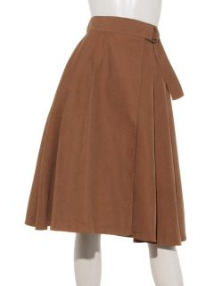 ラップフレアスカート