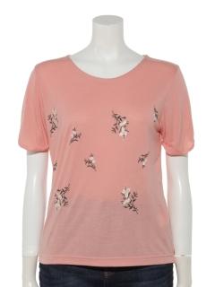 GP総花刺繍Tシャツ
