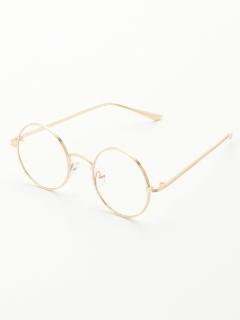 【frames Ray Cassin】丸渕メガネ