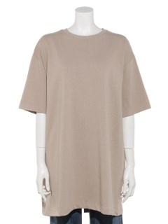 バックスリットビックTシャツ