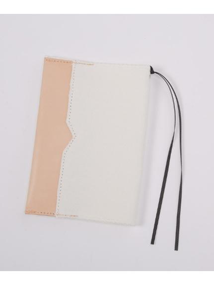 LAUGOA (ラウゴア) ブックカバーFrancis ホワイト