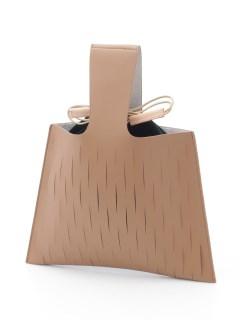 巾着付きハンドバッグ/York