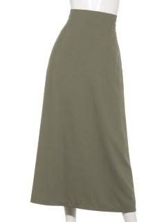 バックスリットスカート