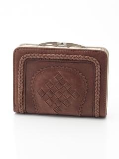 ガマ口二つ折り財布
