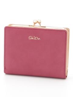 【shion】ガマ口二つ折り財布