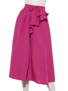 CONGES PAYESサイドフリル スカート