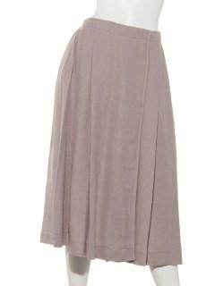 ツイードプリーツスカート