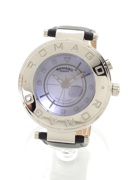 ROMAGODESIGN (ロマゴデザイン) 【ユニセックス】腕時計 Flow series(フローシリーズ) シルバー