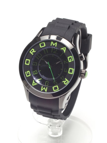 MAX ROMAGODESIGN (ロマゴデザイン) 【ユニセックス】腕時計Attractionseries(アトラクションシリーズ) グリーン