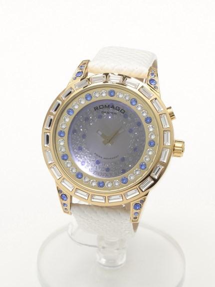 ROMAGODESIGN (ロマゴデザイン) 【ユニセックス】腕時計Dazzleseries(ダズルシリーズ) ブルー