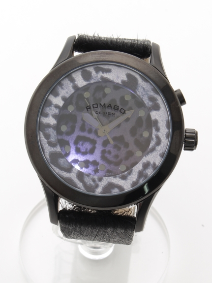 MAX ROMAGODESIGN (ロマゴデザイン) 【ユニセックス】腕時計Vibrancyseries(ヴァイブランシーシリーズ) ブラック