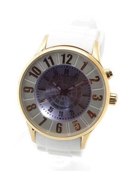 ROMAGODESIGN (ロマゴデザイン) 【ユニセックス】腕時計Numerationseries(ヌメレーションシリーズ) ゴールドホワイト