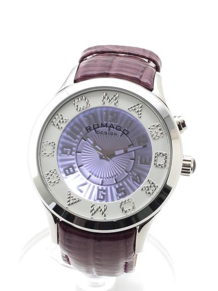ROMAGODESIGN (ロマゴデザイン) 【ユニセックス】腕時計Attractionseries(アトラクションシリーズ) パープル