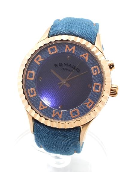 ROMAGODESIGN (ロマゴデザイン) 【ユニセックス】腕時計Attractionseries(アトラクションシリーズ) ローズゴールド
