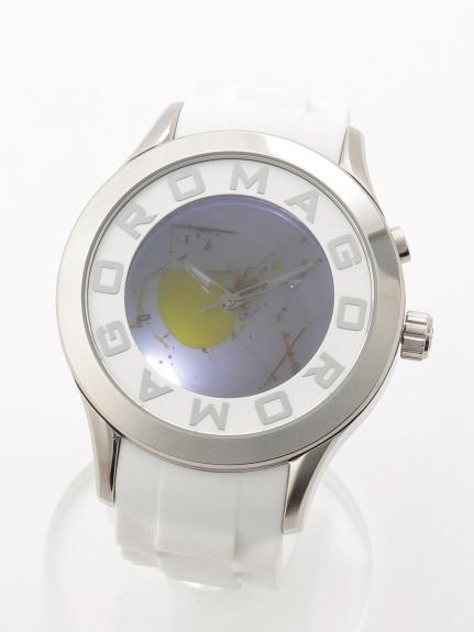 ROMAGODESIGN (ロマゴデザイン) 【ユニセックス】腕時計Attractionseries(アトラクションシリーズ) ホワイト