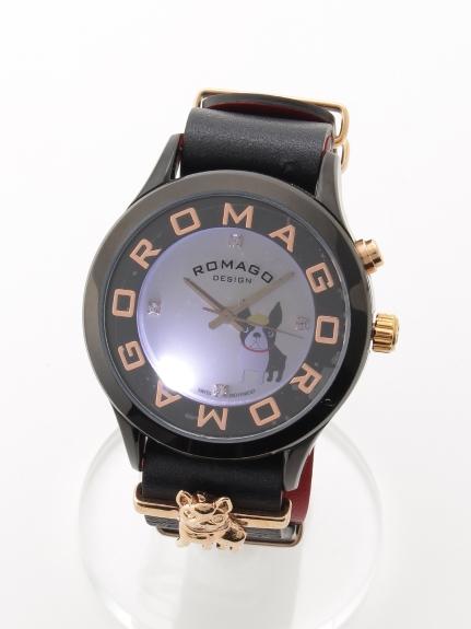 MAX ROMAGODESIGN (ロマゴデザイン) 【ユニセックス】腕時計Attractionseries(アトラクションシリーズ) ブラック