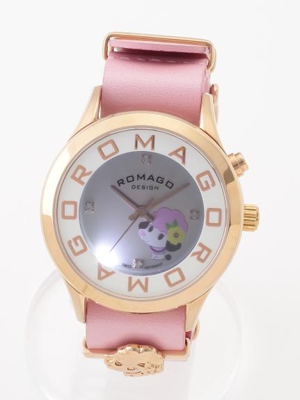 MAX ROMAGODESIGN (ロマゴデザイン) 【ユニセックス】腕時計Attractionseries(アトラクションシリーズ) ピンク