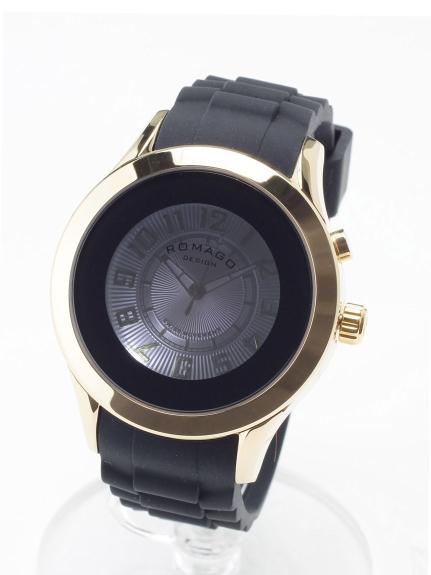 ROMAGODESIGN (ロマゴデザイン) 【ユニセックス】腕時計Attractionseries(アトラクションシリーズ) ゴールド