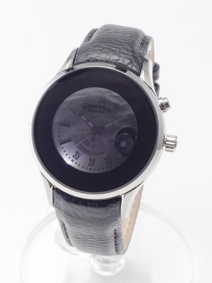 ROMAGODESIGN (ロマゴデザイン) 【ユニセックス】腕時計Numerationseries(ヌメレーションシリーズ) シルバー