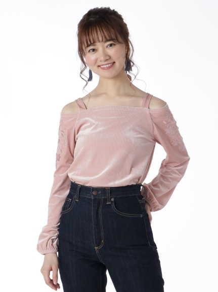 64%OFF tocco closet (トッコ クローゼット) トップス ピンク