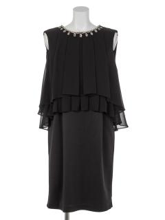タックブラウスセットドレス
