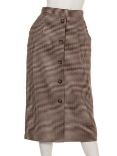 ガンクラブチェックタイトスカート
