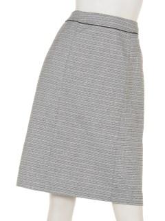 サイドウェイラメツイードスカート
