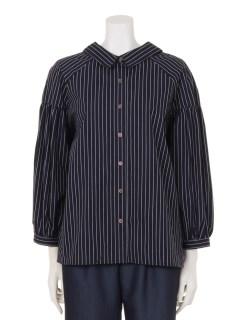 【MD】高密度バックリボンシャツ